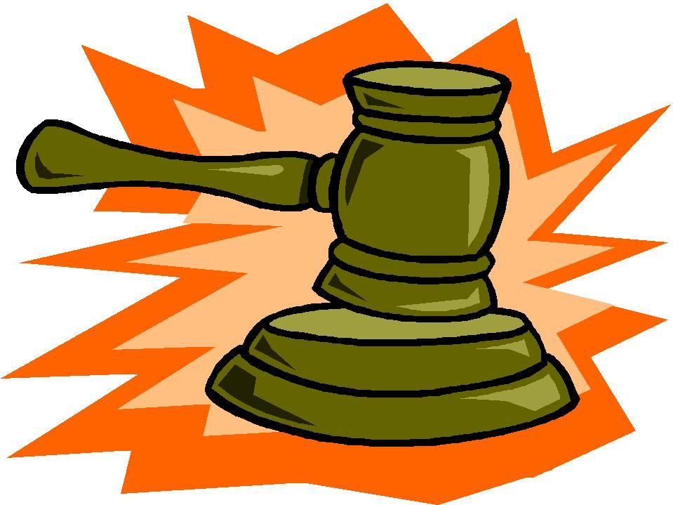 Gavel clipart free clipart images image
